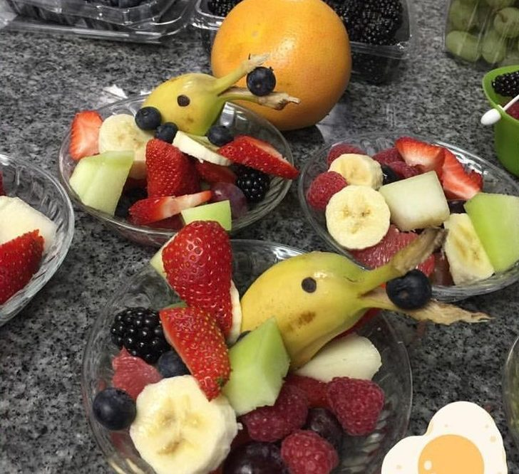 Fresh Breakfast Fruit